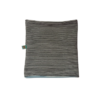 Kép 2/3 - Bélelt csősál - Fekete/fehér csíkos