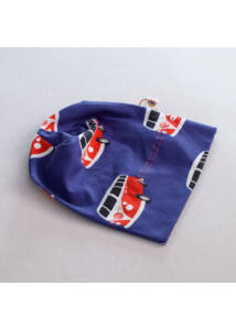 Kék VWT1 busz mintás tavaszi gyerek sapka a Féltucat gyerekruha ebáruház kínálatában