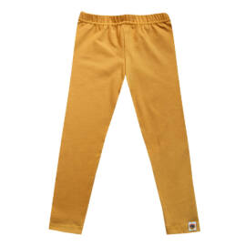 Egyszínű, mustársárga leggings gyerekeknek a FÉLTUCAT GYEREKRUHA WEBÁRUHÁZ KÍNÁLATÁBAN